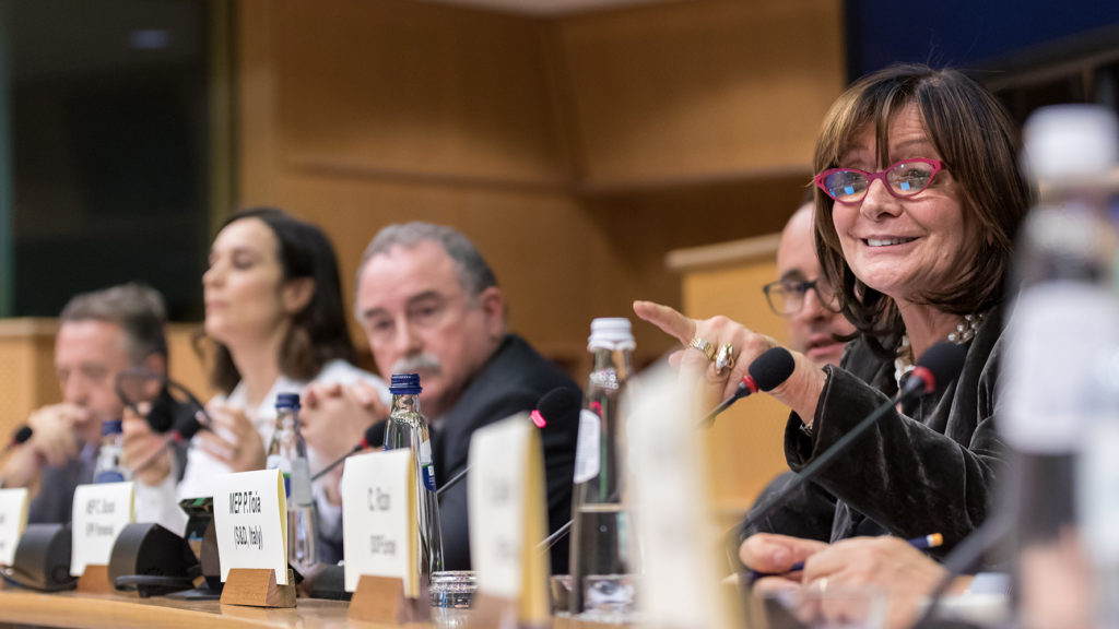 Patrizia Toia MEP, Brussels event photography