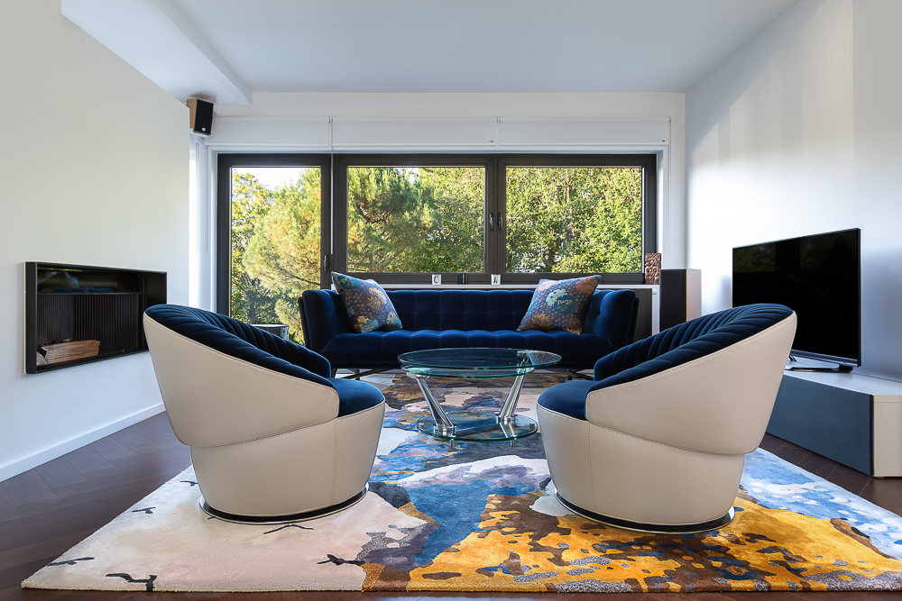 Real estate photography Linkebeek, Drogenbos: House, living room