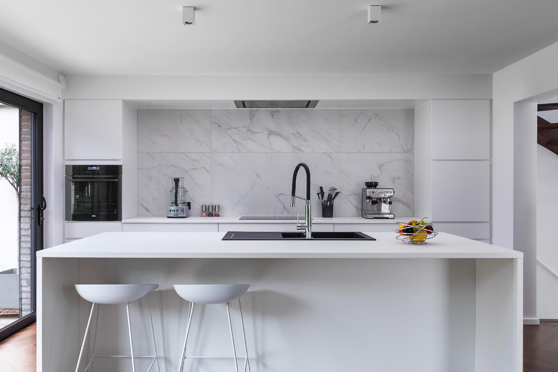 Real estate photography Waterloo Modern grey Kitchen