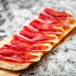 Jamon Iberico by Ajay Suresh - Détail culinaire photo de mariage